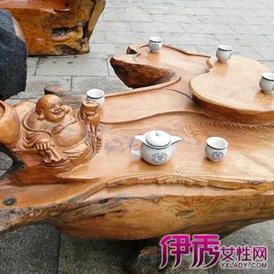 【樟木根雕茶几】【图】樟木根雕茶几图片展示-桑葚木根雕茶几图片