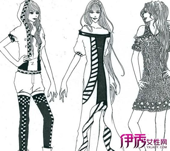 【铅笔手绘服装设计】【图】铅笔手绘服装设计图片
