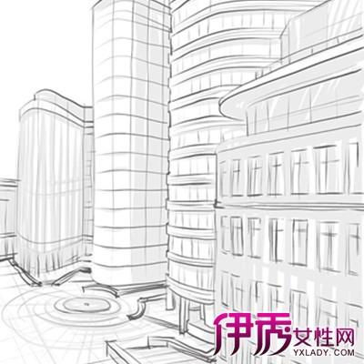 简单建筑素描图片大全 素描7的问题需谨慎图片
