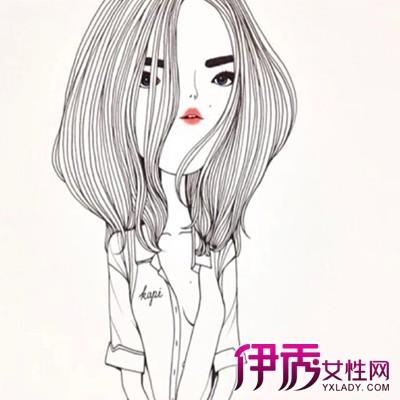 【图】最萌长发女孩简笔画 幼儿简笔画教程
