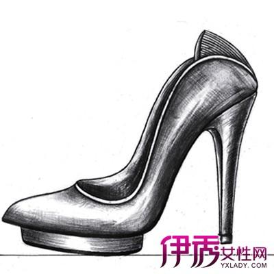 【鞋子素描】【图】鞋子素描图片大全