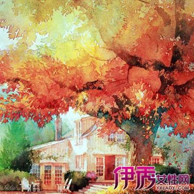 【小清新风景水彩画】【图】小清新风景水彩画欣赏图片