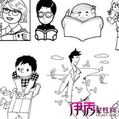 【图】手绘黑白插图图片鉴赏 手绘师4大设计要素你须知