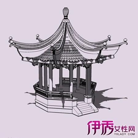 【古代建筑手绘效果图】【图】唯美的古代建筑手绘图