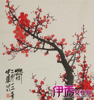 【图】梅花水墨画尤被画家所爱 皆因梅花有威武不屈的阳刚之美