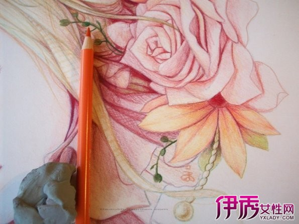 【彩铅手绘小清新插】【图】彩铅手绘小清新插画欣赏
