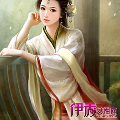 【手绘古风汉服美女】【图】手绘古风汉服美女图片