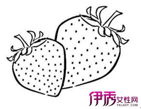 卡通桃子水果简笔画步骤图片大全