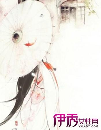 【古风手绘冷艳女子图】【图】古风手绘冷艳女子图片