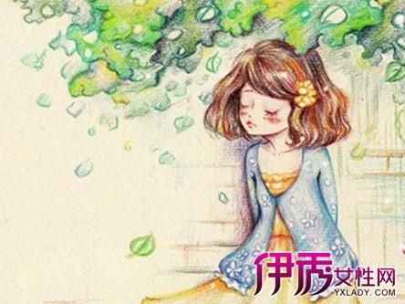 【图】彩铅手绘小清新插画欣赏