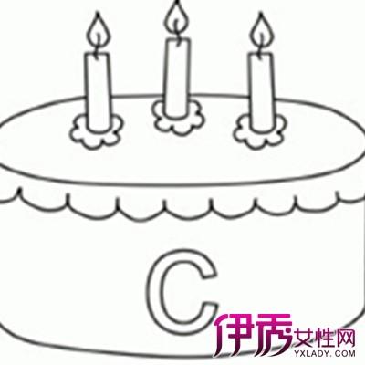 【图】简笔画生日蛋糕图片大全