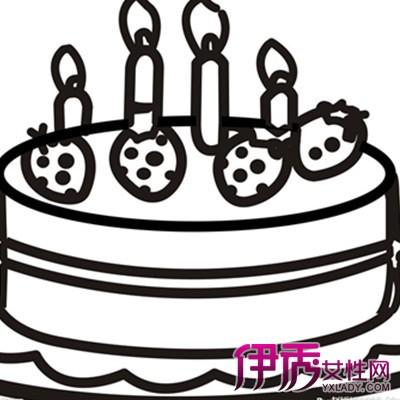【简笔画生日蛋糕】【图】简笔画生日蛋糕图片大全