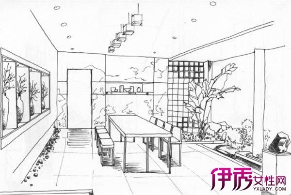 【图】大师室内手绘线稿 视觉艺术设计展现舒适优美