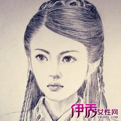 【图】铅笔手绘美女的图片欣赏 盘点其手绘作画6步骤