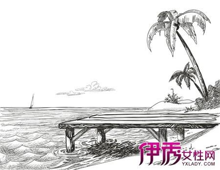 【图】展示手绘海浪简笔画图片 盘点3个简笔画的绘画方法