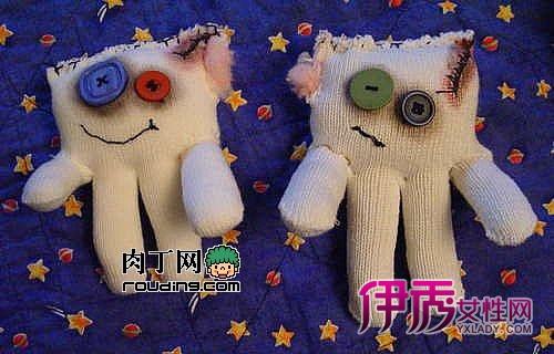 手套娃娃制作教程-可爱的小魔鬼僵尸宝宝