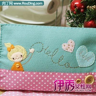 风靡韩国的超可爱手工不织布包包欣赏