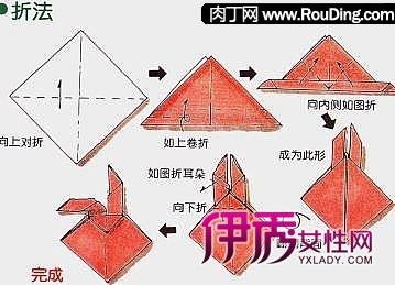花式餐巾折法图片