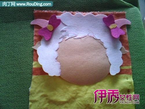 给宝宝手工制作拼布包包图解-可爱的喜洋洋拼布教程