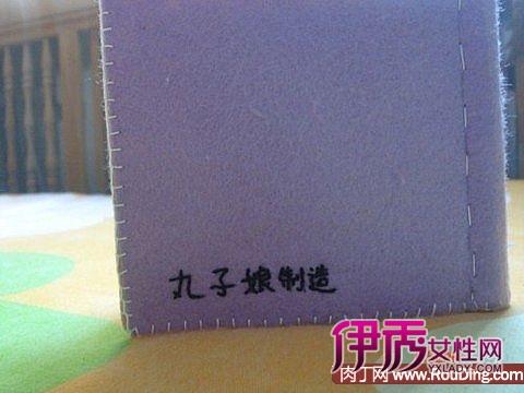 送给宝宝的礼物-不织布小布书手工制作