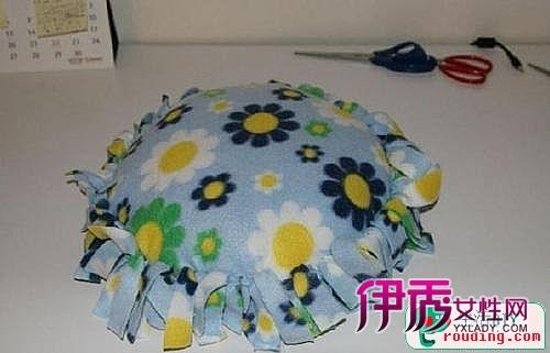 简单创意diy抱枕制作方法