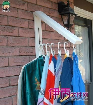 隐藏式收纳挂衣架