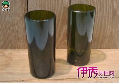 酒瓶手工制作:啤酒瓶改造的创意玻璃杯