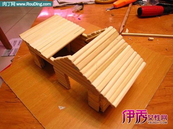 手工制作的小房子