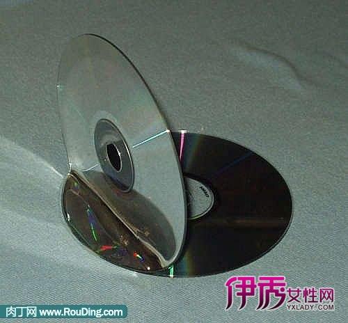 用旧光盘制作cd架或者小书挡(第1页)