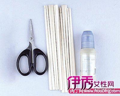 用一次性筷子制作名片盒教程 废物利用名片盒的做法