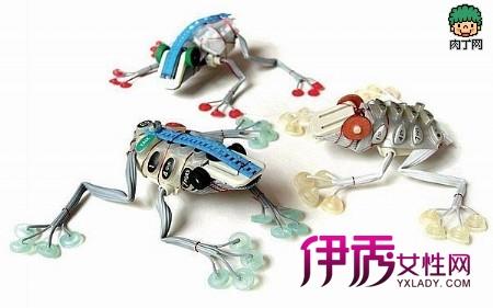 利用废旧物品制作玩具等环节