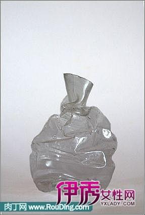 塑料瓶,矿泉水瓶改创意花瓶教程