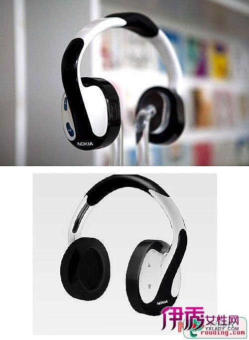 酷炫的头戴式蓝牙耳机