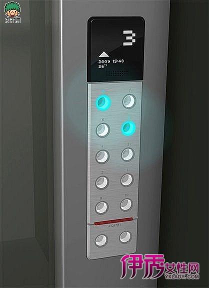 非接触式电梯按钮