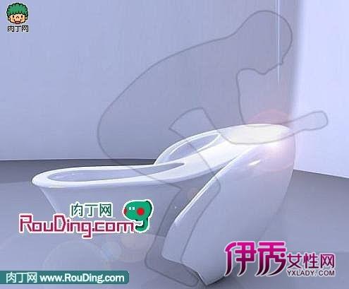 这款toto公司的马桶,内部嵌入了各种体检设备:不仅有能化验分析尿液