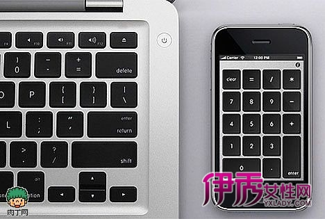 iphone笔记本数字键盘
