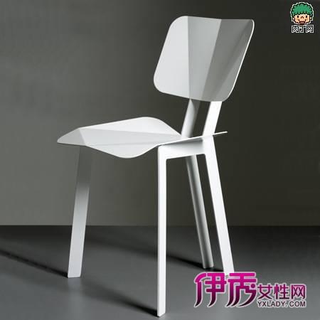 挪威折纸造型的椅子创意设计椅
