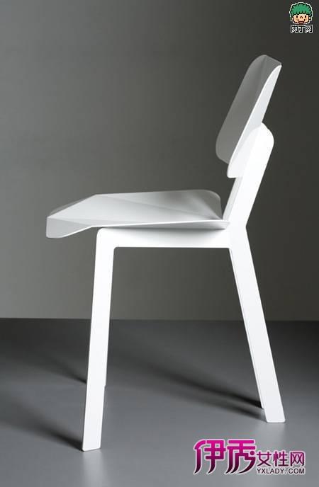 挪威折纸造型的椅子创意设计椅图片