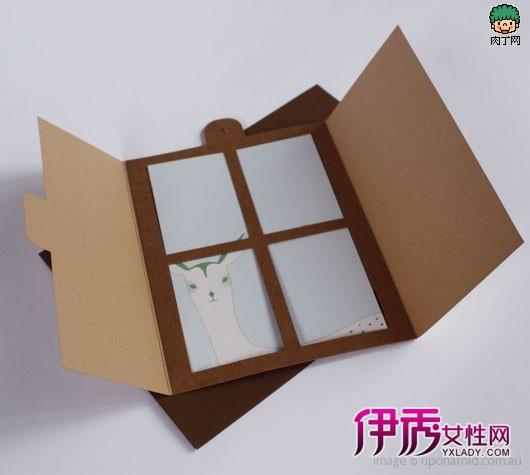 diy心旷神怡的小卡片-可爱的窗户