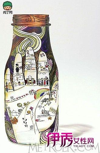一些手绘瓶子图片欣赏(第1页)