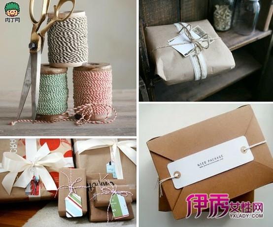 几款简单的礼品包装袋diy创意设计
