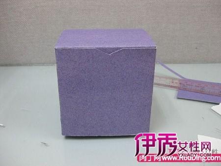 一种包装纸盒手工制作