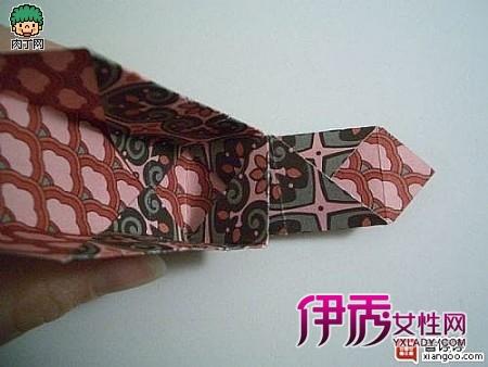 包装纸折纸盒的方法