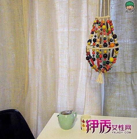 手工串珠灯饰-diy创意吊灯罩