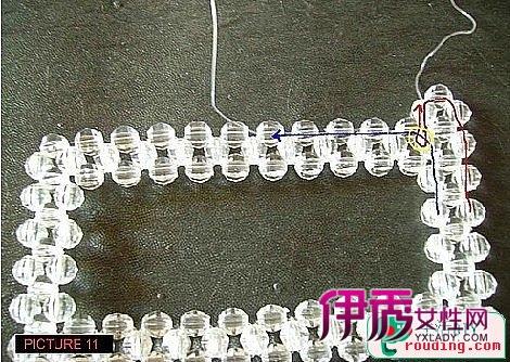 diy串珠纸巾盒的制作步骤图解