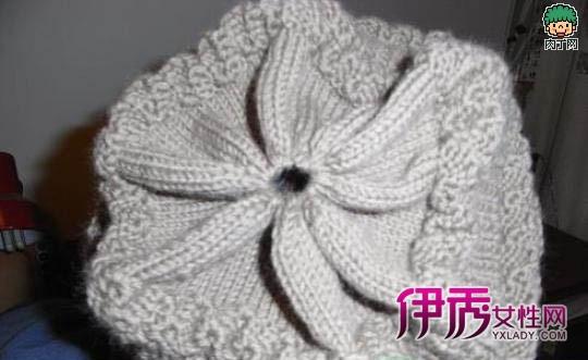 教你怎么织帽子 韩版流行针织帽子棒针编织图解