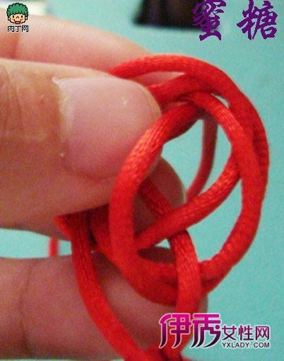 ... 编法 红绳手链编法图解_创意DIV_创意-伊秀生活网