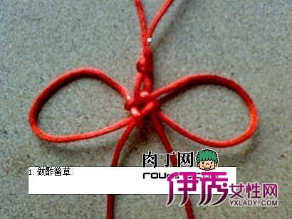 中国结的编法图解-磬结的打法