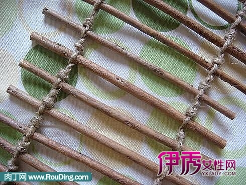 用麻绳编织小动物图解