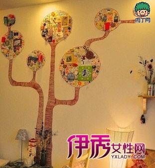 DIY相片墙设计案例欣赏